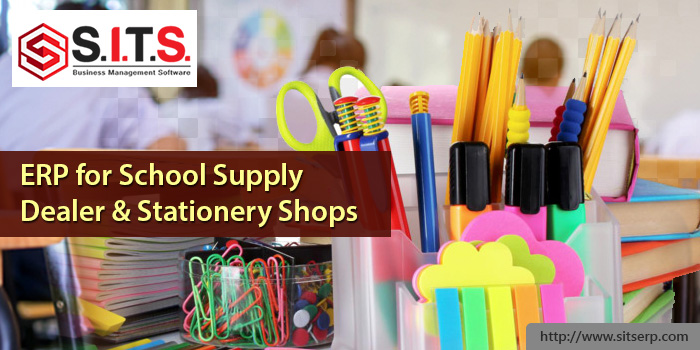 ERP for School Supply Dealer & Stationery Shops